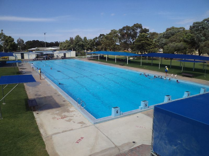 Bordertown Pool 1 Length